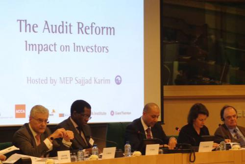 The Audit Reform Conference, Brussels 2013